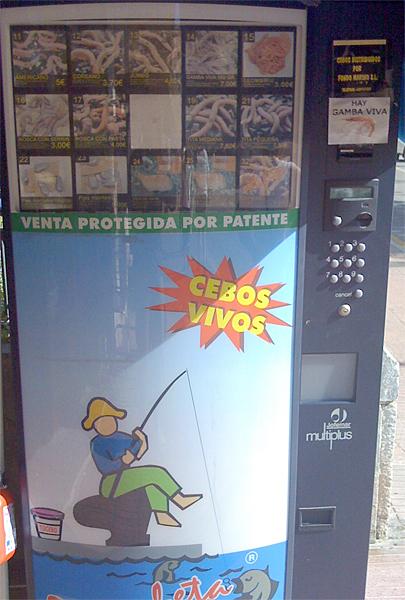 Ein Wurmautomat