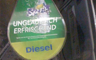 Unglaublich erfrischender Diesel 8-)