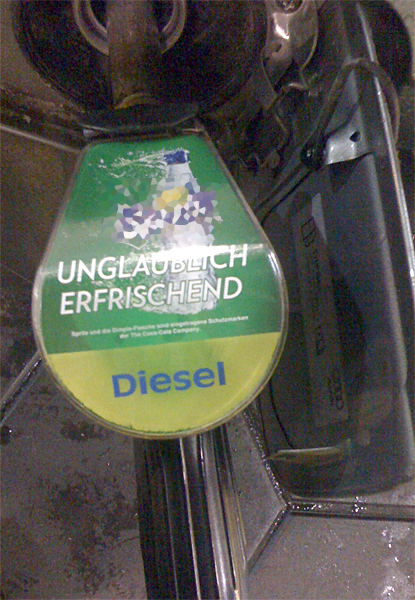 unglaublich erfrischender Diesel!