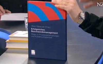 """Buchbesprechung """"Erfolgreiches Beschwerdemanagement"""" bei NZZ"""