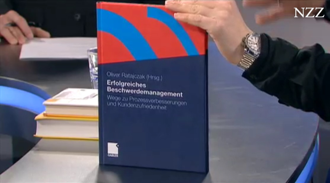"""Mein Buch """"Erfolgreiches Beschwerdemanagement"""" bei NZZ in der Buchbesprechung"""