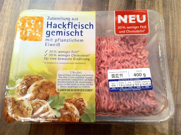 Hackfleisch-gemischt