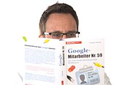 Dr. Oliver Ratajczak liest Google-Mitarbeiter-Nr. 59