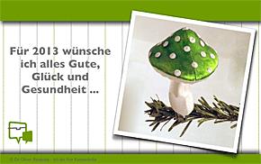 Herzlich Willkommen 2013