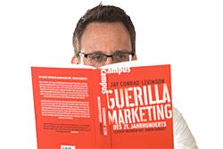 """""""Guerilla Marketing des 21. Jahrhunderts"""" von Jay Conrad Levinson"""