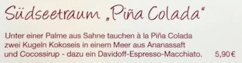 Zu viel am Pina Colada genascht? ;-)