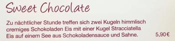 Zu viel am Sweet Chocolate genascht? ;-)