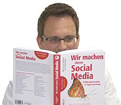 """""""Wir machen dieses Social Media"""" von Malina Kruse-Wiegand und Dr. Annika Busse"""