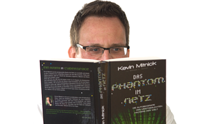 """Das Phantom im Netz"" von Kevin Mitnick & Wiliam L. Simon"