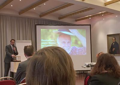 Dr. Oliver Ratajczak bei seinem Vortrag auf dem Cologne Business Day