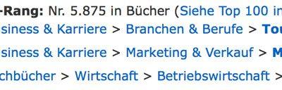 Wow! Amazon-Bestseller in drei Rubriken am ersten Verkaufstag!