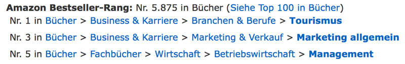 Deifach Amazon Beststeller
