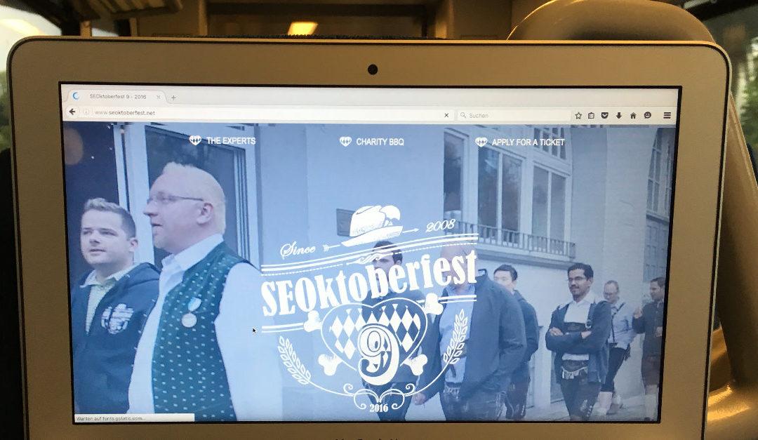 Inspirationen tanken beim SEOktoberfest in München