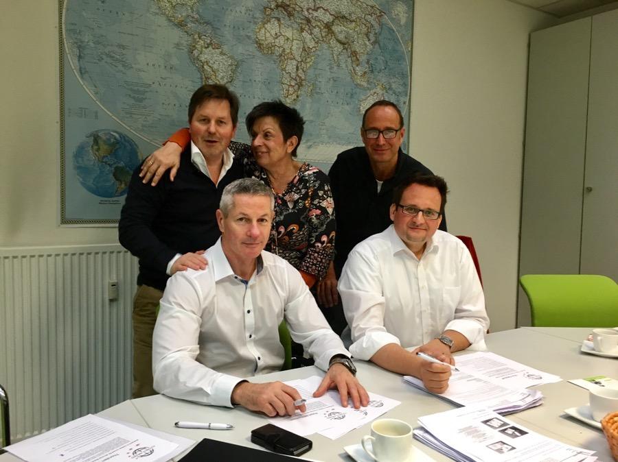 Jury-Sitzung für den Globus Award