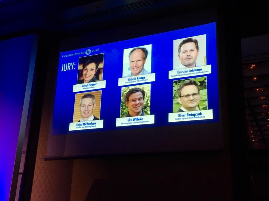 Die Jury des Globus Award