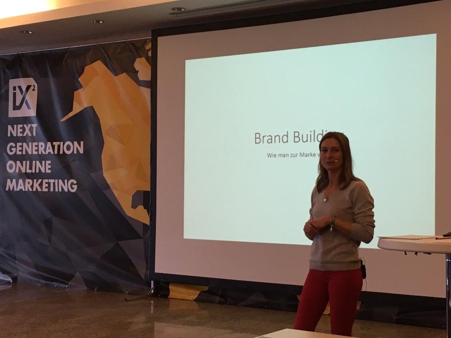 Brand Building - wie man zur Marke wird von und mit Silvia Manz