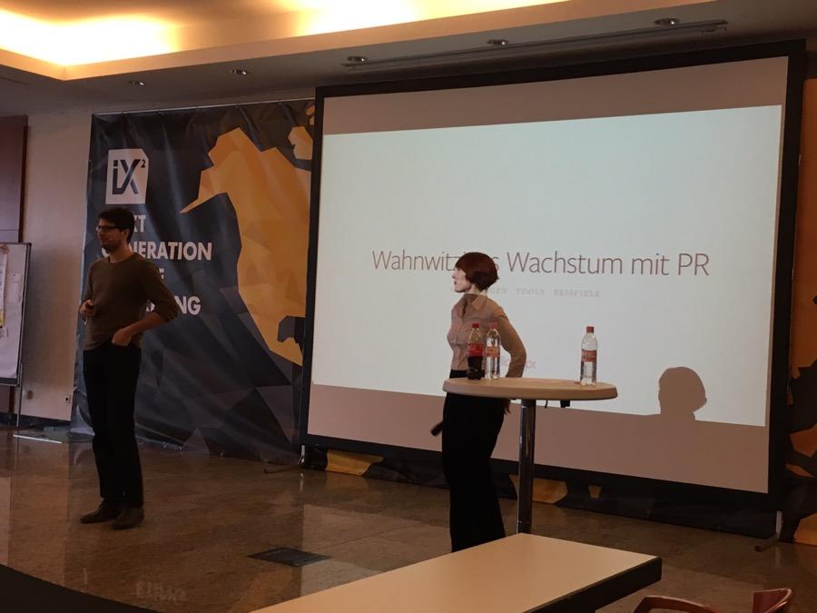 Wahnwitziges Wachstum mit PR von uns mit S. Giehl und S. Rumberg