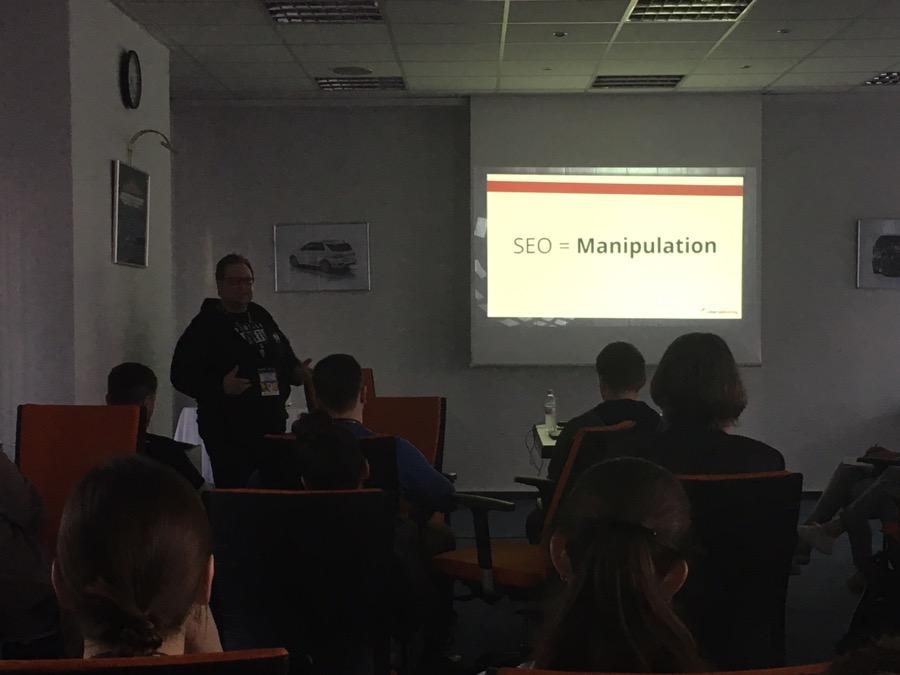 SEO = Manipulation