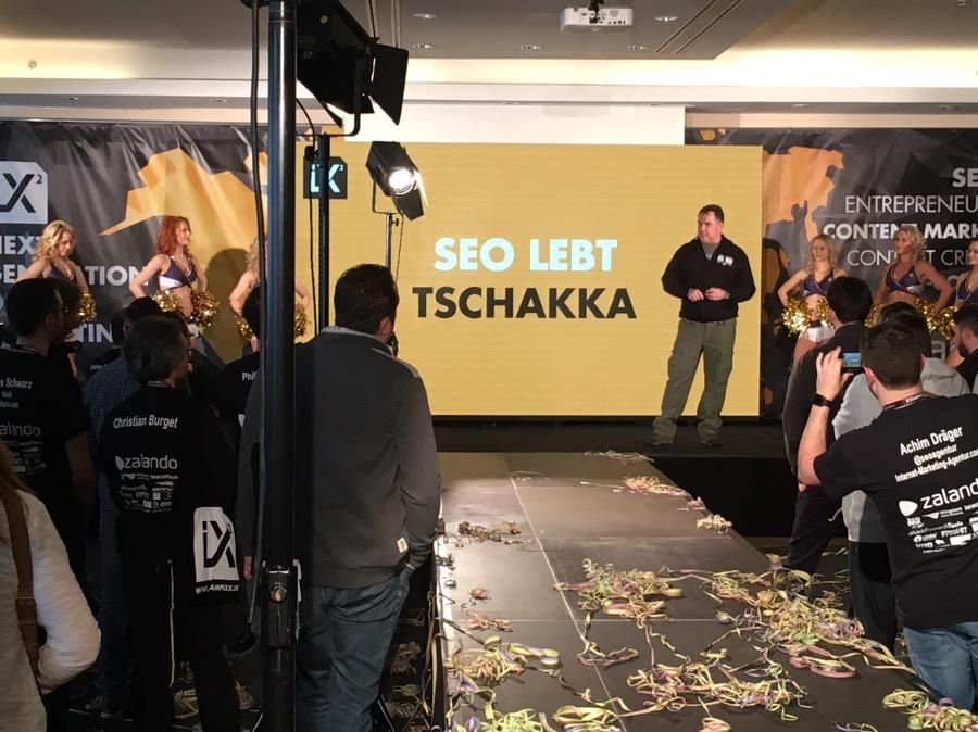 Eröffnung der SEO-CAMPIXX von und mit Marco Janck