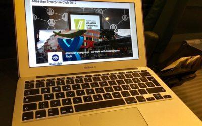 Heute beim Atlassian Enterprise Club und der Atlassian Usergroup Rhein Main