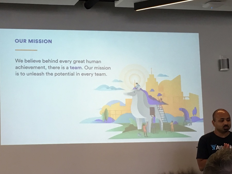 The mission of Atlassian