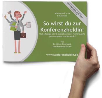 Arbeitsbuch: So wirst du zur Konferenzheldin