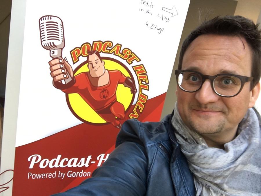Oliver Ratajczak bei der Podcast-Helden-Konferenz