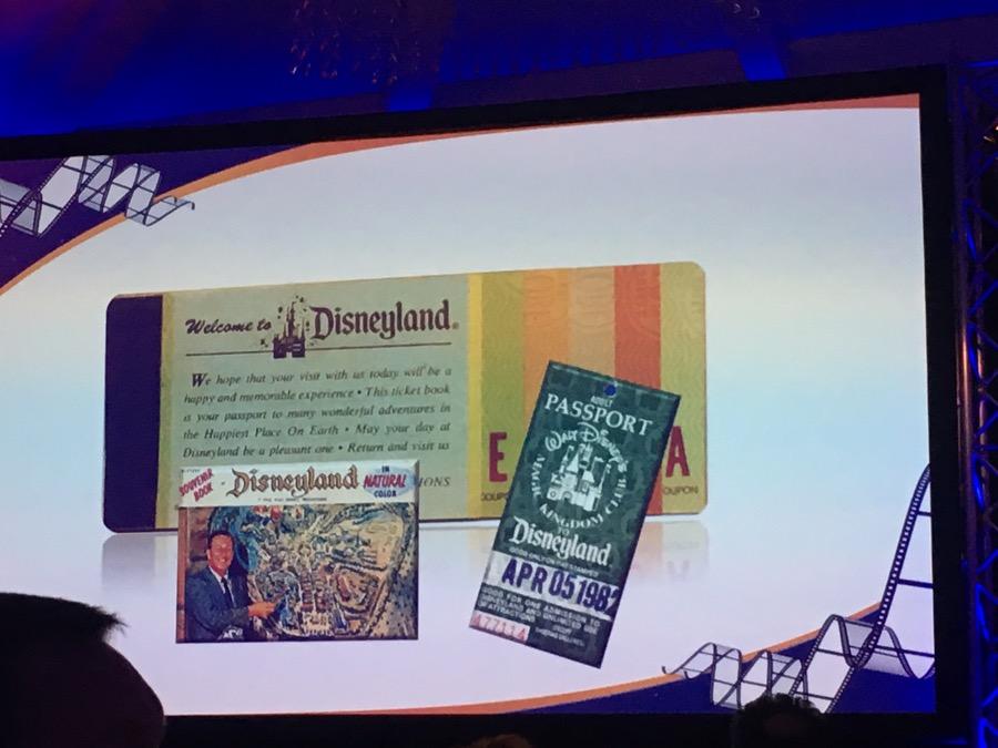 Disneyland Ticket-Book: A (langweilig) bis E (WOW!)