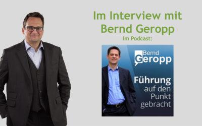Bernd Geropp interviewt mich zum Thema: Abteilungsübergreifende Zusammenarbeit