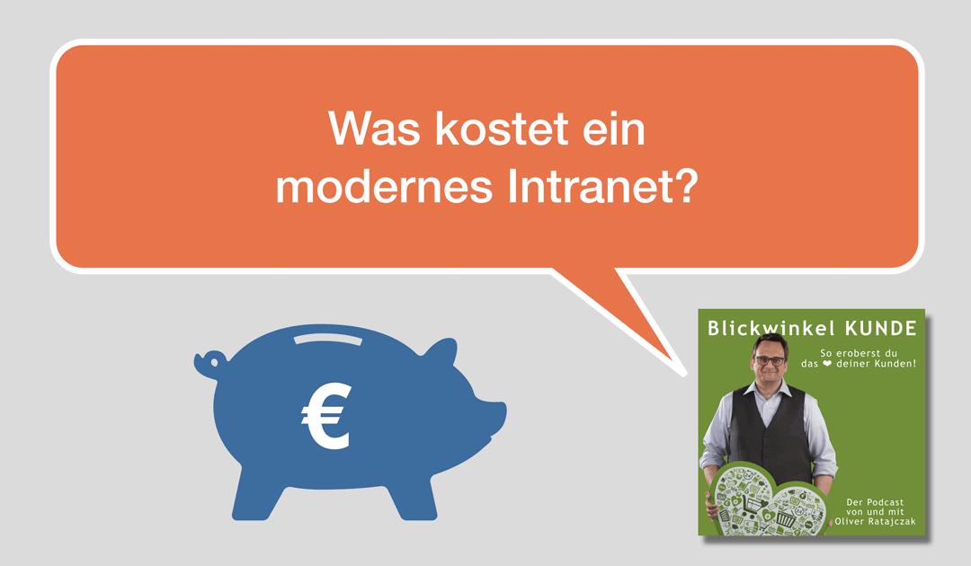 015 Was kostet ein modernes Intranet?