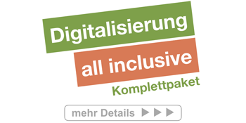 Digitalisierung - all inclusive - Komplettpaket