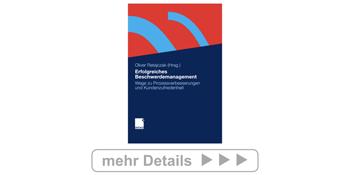 Buch: Erfolgreiches Beschwerdemanagement