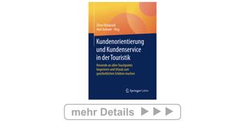 Buch: Kundenorientierung und Kundenservice in der Touristik