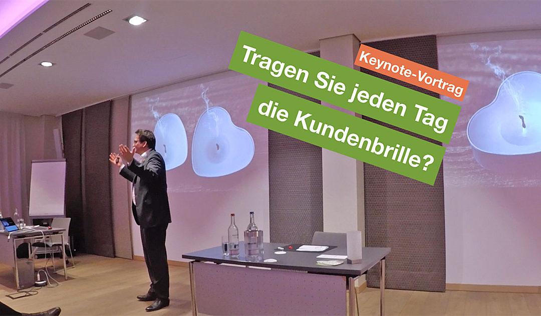 Video: Keynote – Tragen Sie jeden Tag die Kundenbrille?