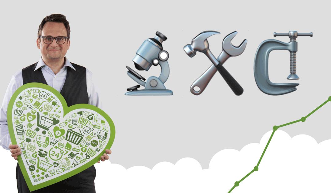 Shop für profitable Kundenbeziehungen und produktive Zusammenarbeit