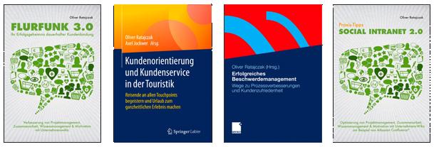 Bücher von Redner und Keynote-Speaker Oliver Ratajczak