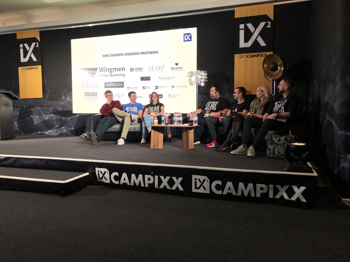 Diskussionen auf der SEO-CAMPIXX