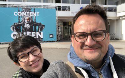 Bei der SEO CAMPIXX 2019 in Berlin