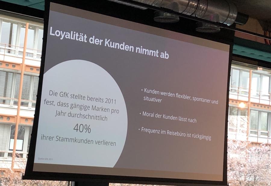 Loyalität der Kunden nimmt ab!