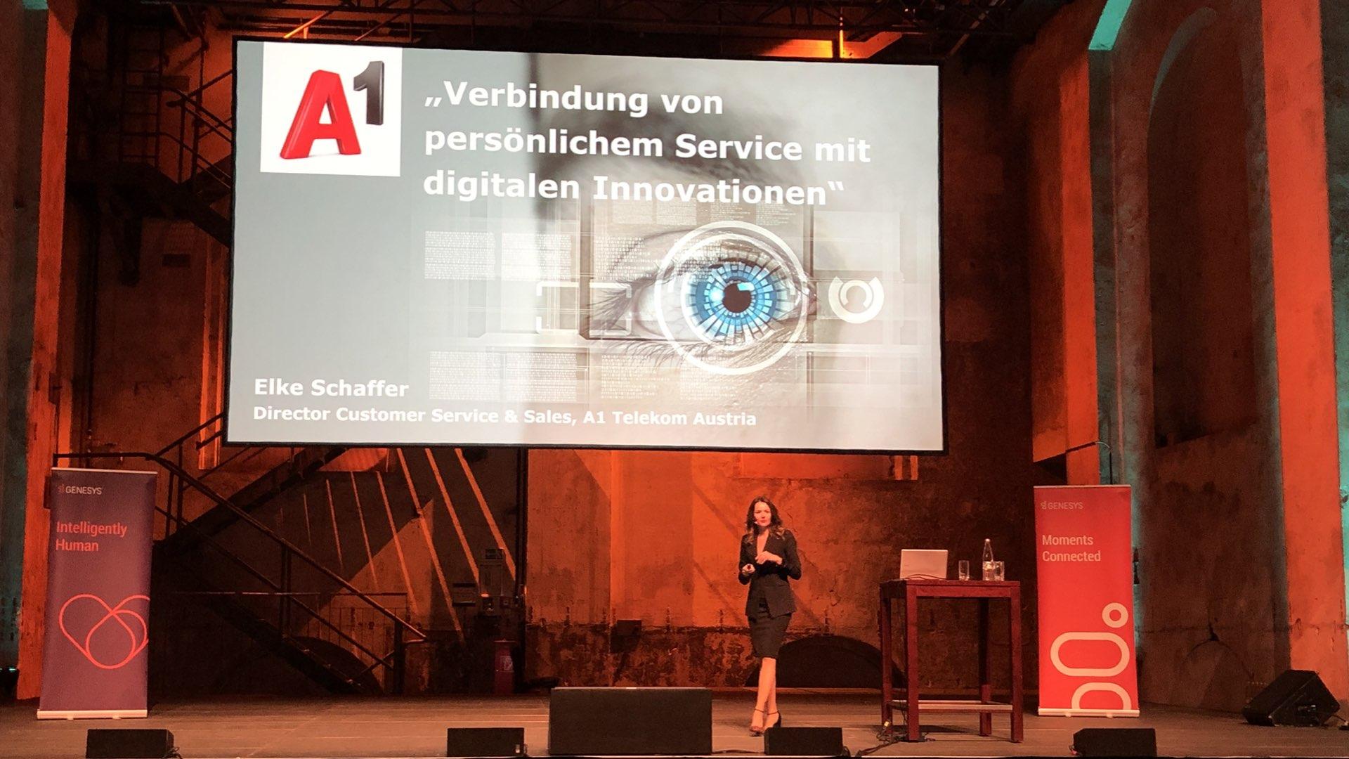 Elke Schaffer (Director Customer Service & Sales von A1) über persönlichen Kundenservice