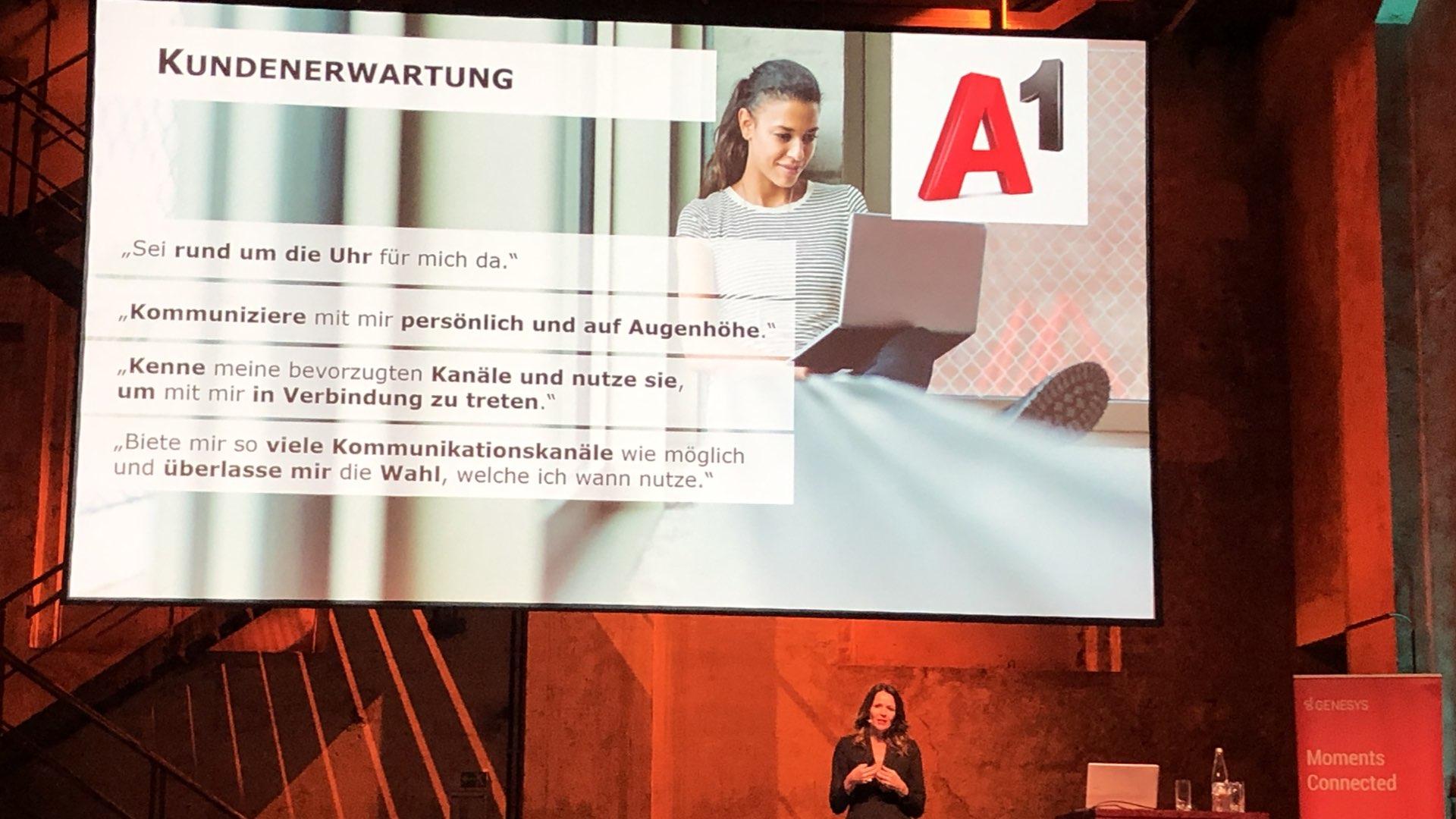 Elke Schaffer (Director Customer Service & Sales von A1) über die Kundenerwartung