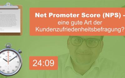Ist der Net Promoter Score (NPS) sinnvoll?