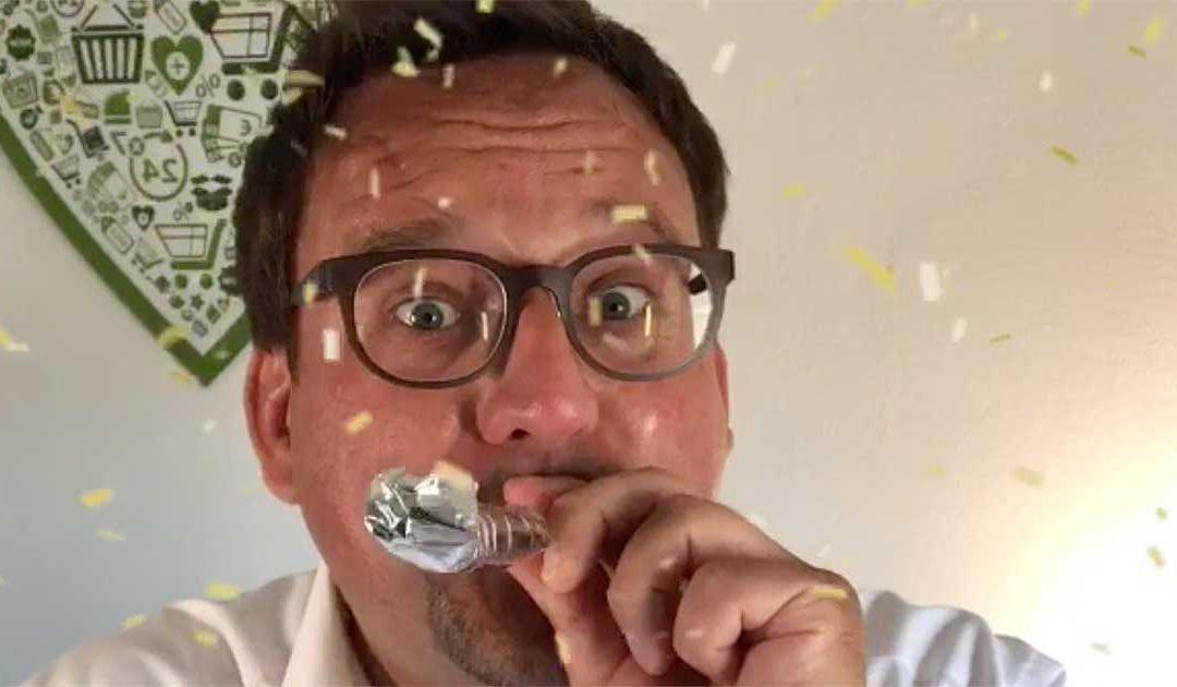 Ein Grund zum Feiern: 8 Jahre Ihre-Kundenbrille.de