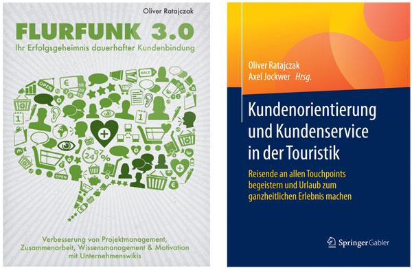 Fachbücher von Dr. Oliver Ratajczak zum Thema Kundenorientierung